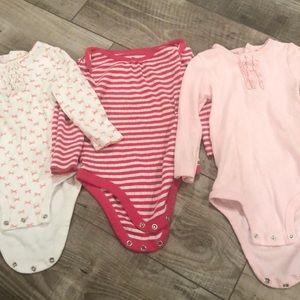 Set of 3 Pink Onesies!